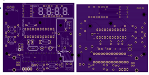 TinyTimerKS Board Layout